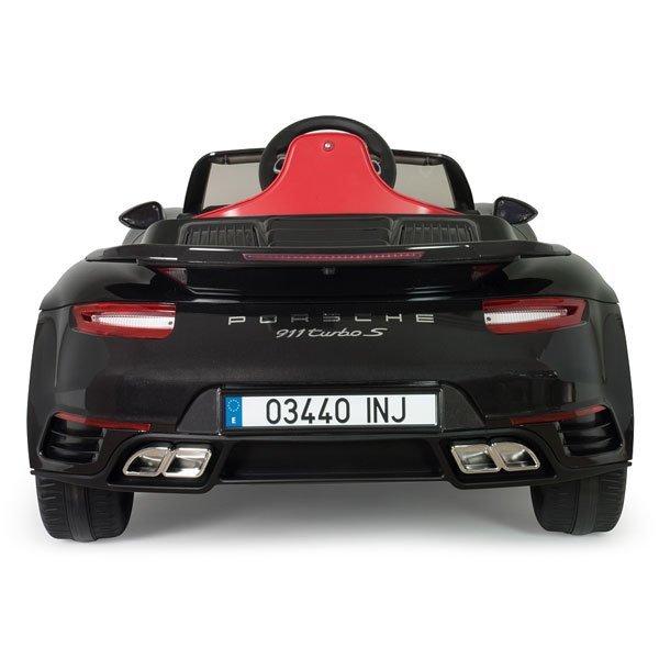 INJUSA Samochód elektryczny dla dzieci Porsche 911 Turbo S Specjal Edition 12V