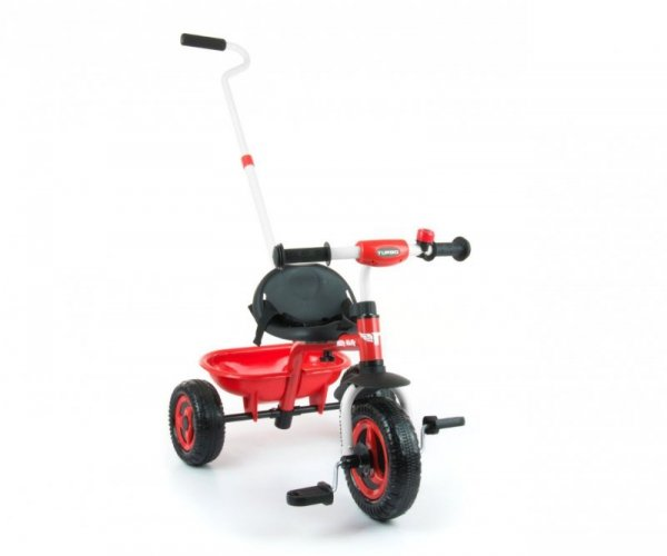 Milly Mally Rowerek Turbo Red (0333, Milly Mally)