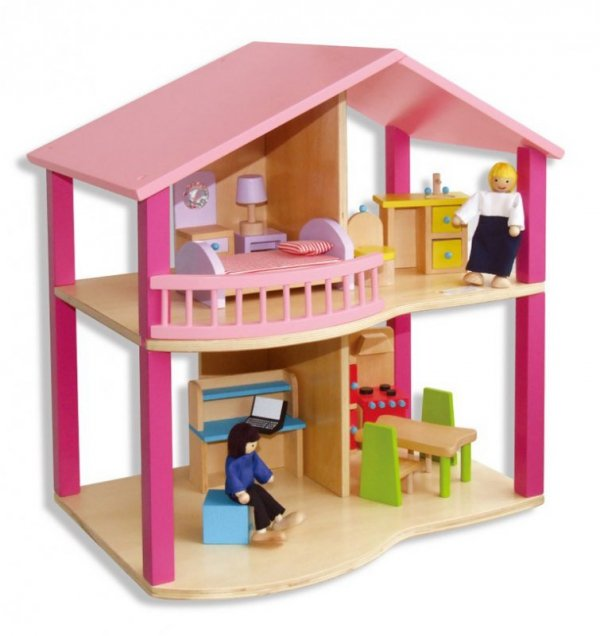 VIGA 59435 Dom dla lalek