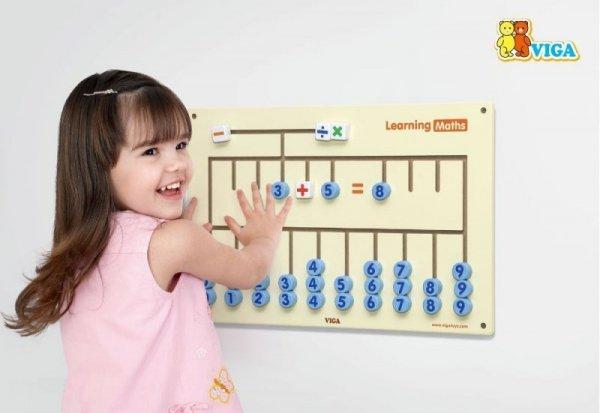 Viga 50675 Sensoryczna tablica - nauka cyferek
