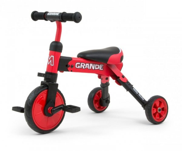 Milly Mally Rowerek 2w1 Grande Red