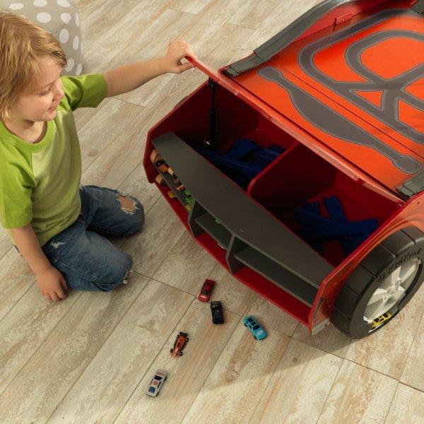 Drewniany Stół Samochód z Torem Wyścigowym KidKraft Speedway