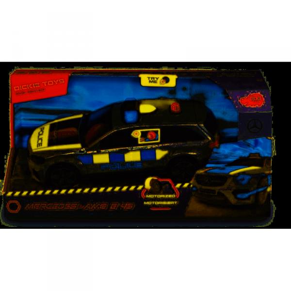 Samochód Policyjny DICKIE SOS_N Mercedes-AMG E43 30 cm