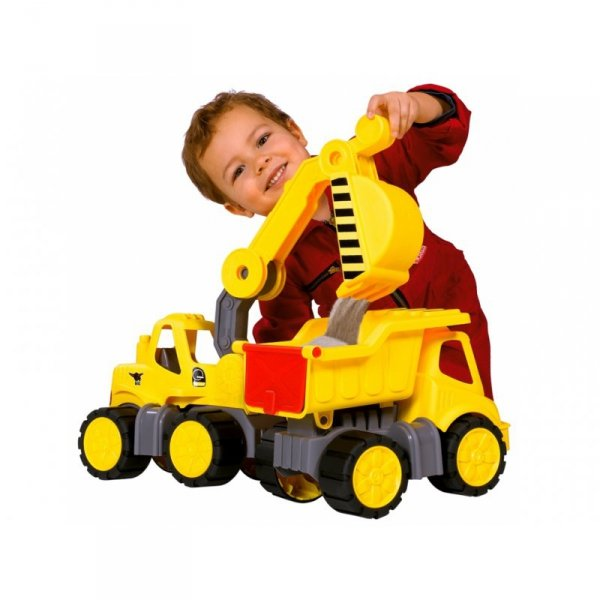 Big Power Worker Samochód Koparka idealny do przedszkola
