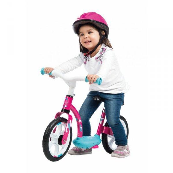 SMOBY Rowerek Biegowy Różowy