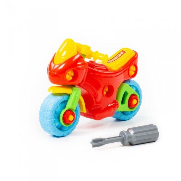 Kolorowy motor ze śrubokretem Wader