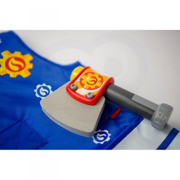 SIMBA Strażak Sam Kamizelka Strażacka z akcesoriami + Latarka