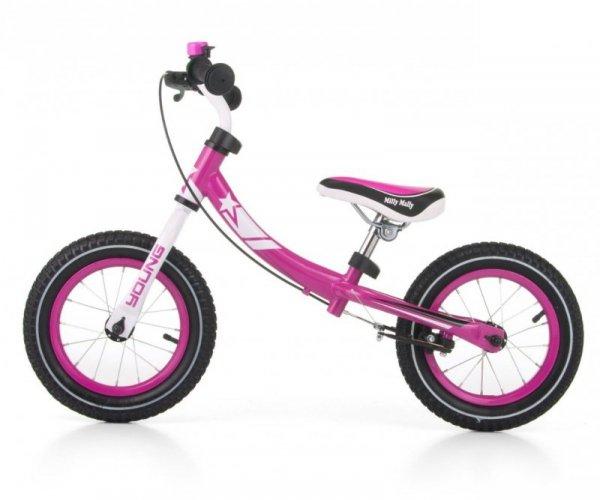 Rowerek Biegowy Young Pink