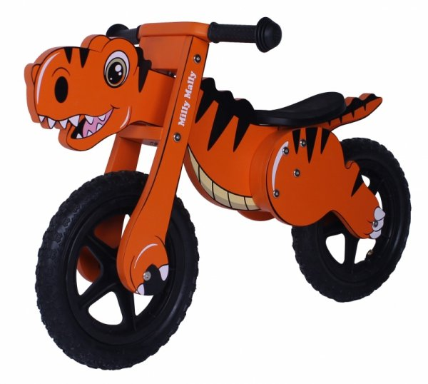 Rowerek Biegowy Dino Orange