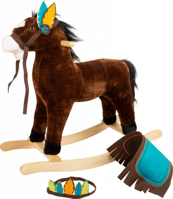 SMALL FOOT Indian Rocking Horse - konik na biegunach