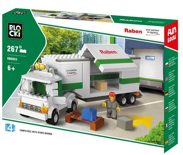 Klocki BLOCKI RABEN Long Truck 267el