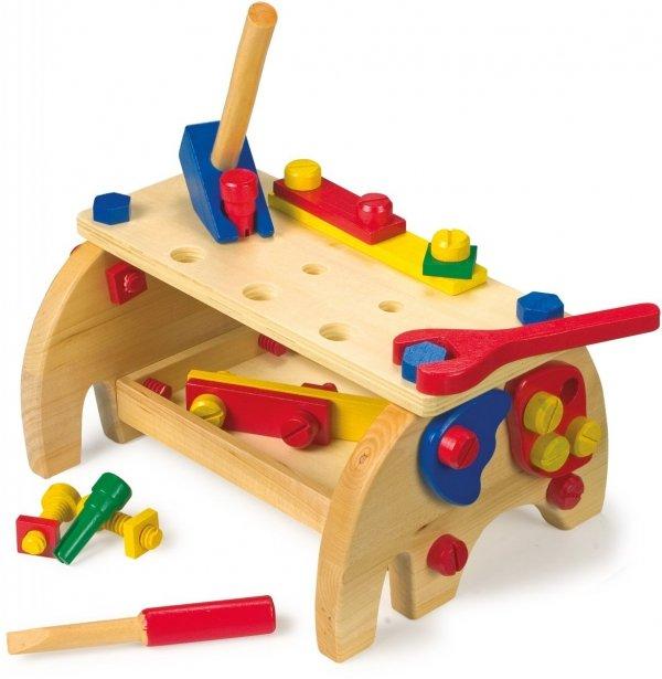 SMALL FOOT Stół z Narzędziami - zabawka dla dzieci
