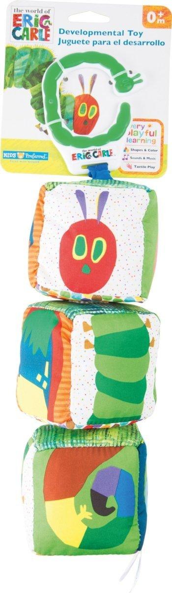 """SMALL FOOT Very Hungry Caterpillar Motor Skills Toy """"Cubes"""" - edukacyjne kostki (bardzo głodna gąsienica)"""