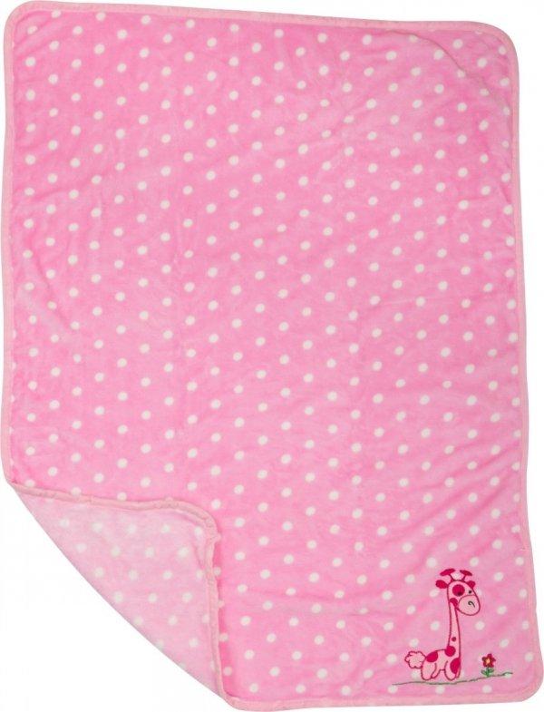 "SMALL FOOT ""Giraffe"" Baby Blanket - mata dla niemowląt"