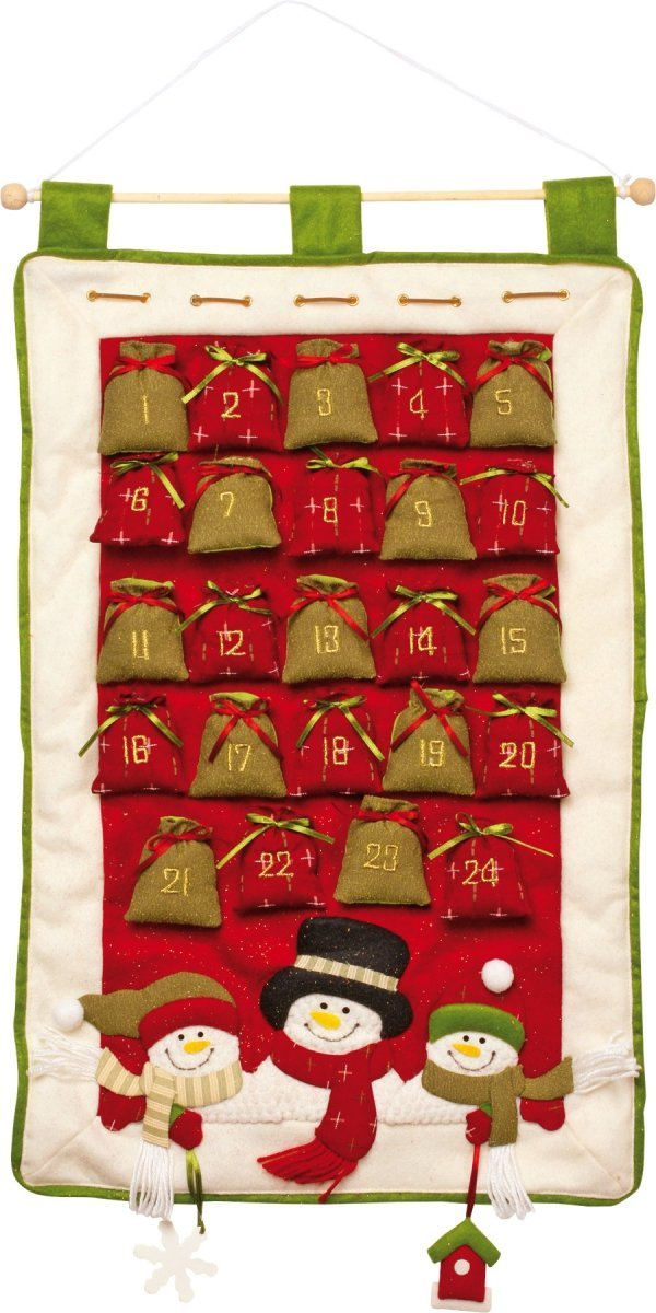 Dekoracja SMALL FOOT Kalendarz Adwentowy