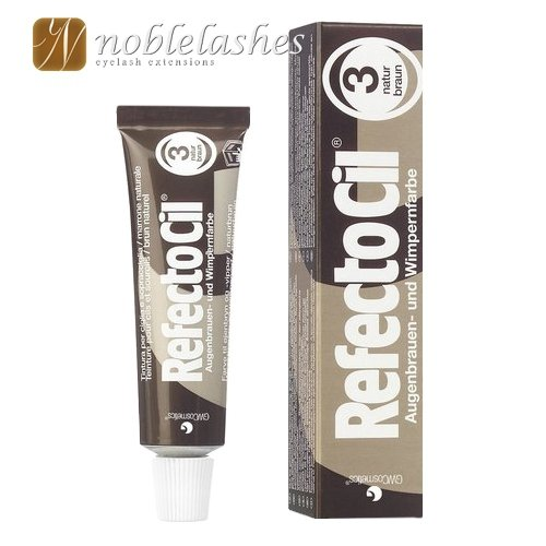 Henna żelowa RefectoCil (brązowa)