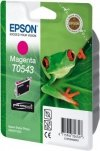 Tusz do Epson Stylus Photo R800/R1800 Magenta Ink Cartridge 400 str. T0543