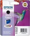 Wkład czarny do Epson Stylus Photo R265/360/RX560/585/685; T0801
