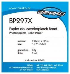 Papier w roli do ksero Yvesso Bond 297x175m 80g BP297X