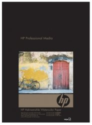 Papier HP Digital Fine Art Hahnemuhle Watercolor Paper 210 g/m2-A3+/330 x 483 mm/25ark. Q8729A