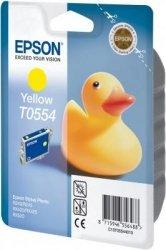 Wkład yellow do Epson Stylus Photo R/240/R245/RX420/425/RX520 T0554