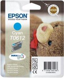 Wkład niebieski do Epson Stylus D88/D68PE/DX4800/3850/4850/3800. Wydajność 400 stron. T0612