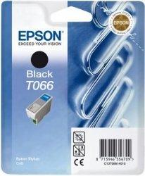 Wkład czarny do Epson Stylus C48 wyd.220 str,poj 10 ml T066
