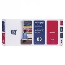 Głowica(Printhead) HP 83 magenta + Gniazdo czyszczące (Printhead cleaner) magenta system UV do DnJ 5000/5000ps/5500/5500ps C4962A