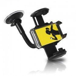 Whitenergy Uchwyt GSM/GPS samochodowy czarny