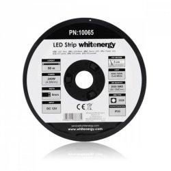 Whitenergy Taśma LED 50m SMD3528 4.8W/m 8mm biała zimna