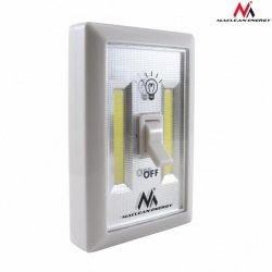 Maclean Lampa ścienna LED COB 2W MCE174 włącznik