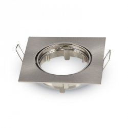 V-tac Oprawa LED VT-779-SN-SQ GU10 aluminium