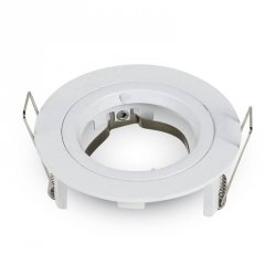 V-tac Oprawa LED VT-774-SN GU10 81x34mm Aluminium Satynowy nikiel okrągła