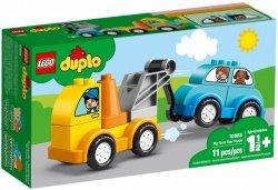 LEGO Polska Klocki DUPLO Mój pierwszy holownik