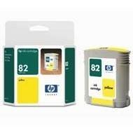 Tusz (Ink) HP 82 yellow (69ml) do DnJ 500/500+/510/510ps/800/800+/10/120 C4913A