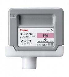 Tusz Canon PFI-301PM Photo Magenta 330ml do iPF8000S iPF8100 iPF9000S iPF9100 CF1491B001AA