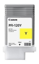 Tusz Canon PFI-120 Y YELLOW (130 ml)