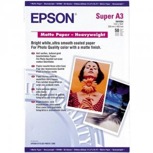 Papier Epson Matte Heavyweight A3+ ( 50 ark.) 167g S041264