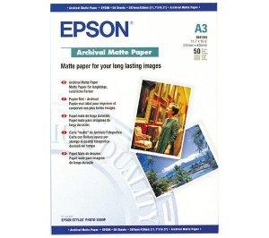 Papier Epson Archival matt A3 50 ark. , 192g/m2 S041344