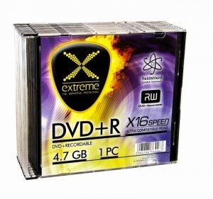 Extreme DVD+R 4,7 GB x16 - Slim 10