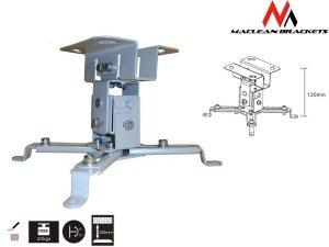 Maclean MC-582 sufitowy uchwyt do projektora 12cm 20kg