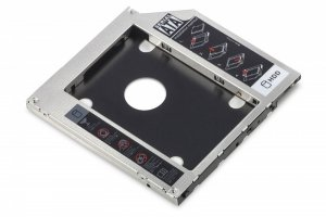 Digitus Ramka montażowa SSD/HDD do napędu CD/DVD/Blu-ray, SATA na SATA III, 9.5mm
