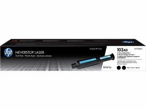 HP Inc. Toner 103AD Neverstop Reload Kit 2-pak W1103AD