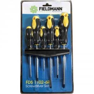 Fieldmann Zestaw 6 wkrętaków śrubokrętów  FDS 1102-6R
