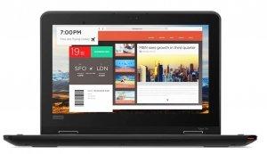 Lenovo Laptop ThinkPad 11e Gen5 Yoga W10Home M3_7Y30/4GB/128GB/INT/11.6 HD/Touch/1YR CI