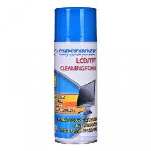 Esperanza ES119 LCD/TFT/Plazma Pianka do czyszczenia urządzeń 400 ml