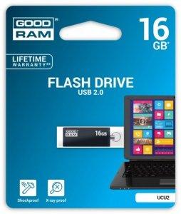 GOODRAM CUBE 16GB USB 2.0 Czarny