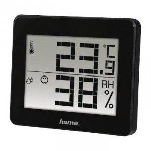 Hama Termometr/higrometr TH-130 czarny