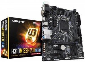 Gigabyte Płyta główna H310M S2H 2.0 2DDR4 s1151 HDMI/DVI u-ATX