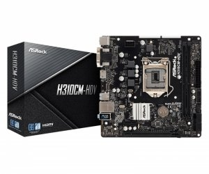 ASRock Płyta główna H310CM-HDV s1151 2DDR4 HDMI/DVI/D-SUB uATX